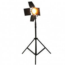 "SBONY® Photography 800w Tungsten Dimmable Photo Video Hot Light Kit, Includes: (1)Aluminum Photography Back Light Stand with 75""/190cm Max Height for Relfectors, Softboxes, Lights, Umbrellas, Backgrounds , (1)800w Tungsten Dimmable Photo Video Hot Light Halogen Continuous Lamp QS-B(US Plug)"