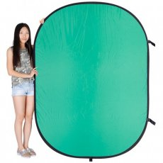 SBONY 5 x 6.5FT / 1.5 x 2M Photo Collapsible Reversible Two Sides Chromakey Green Blue Background Panel