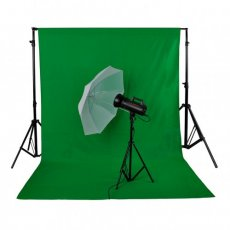 SBONY 10 x 20 Foot / 3 x 6 Meter Pro Photo Studio 100 Pure Muslin Collapsible Backdrop Background for Photography, Video and Televison (Background Only) - Green