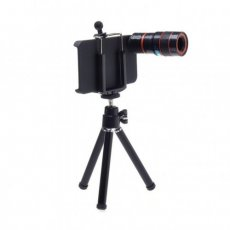 SBONY® 8x Optical Zoom Telescope Camera Lens for Apple iPhone 4 4S with Back Case Cover and Mini Tripod
