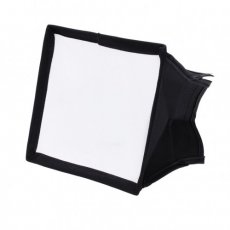 SBONY 5.9x6.7 inches/15x17 centimeters Camera Collapsible Diffuser Mini Softbox for CN-160, CN-126 and CN-216 LED Light