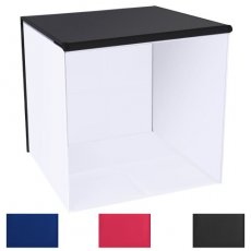 "SBONY 20""x20""/50x50cm Table Top Photo Photography Light Tent Studio Square Light Box with 4 Backgrounds"