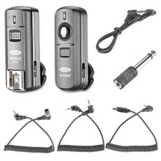 SBONY FC-16 Multi-Channel 2.4GHz 3-IN-1 Wireless Flash/Studio Flash Trigger with Remote Shutter for Nikon D7100 D7000 D5100 D5000 D3200 D3100 D600 D90 D800E D800 D700 D300S D300 D200 D4 D3S D3X D2Xs