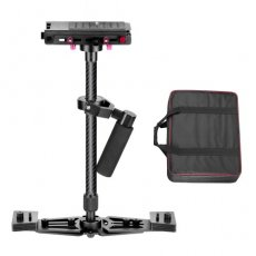 "SBONY 27""/68cm Handheld Carbon Fiber Alloy Stabilizer with 1/4"" Quick Release Plate for Camcorder DV Camera DSLR up to 8.8lbs/4kg"