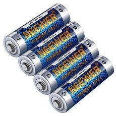 SBONY 4 Pack Count LR6 Alkaline AA Batteries 1.5V 2800mAh Reliable Long Lasting Power for Canon, Nikon, Sony Flashes, LED Video Lights, Battery Grips with AA Battery Holder and More