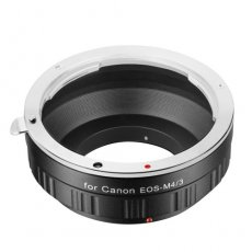 SBONY® Lens Adapter for Canon EOS EF Lens to M4/3 Micro Four Thirds System Camera, M4/3 Micro Four Thirds System Camera such as G1 G2 G3, GF6, GX2, E-P1, and More