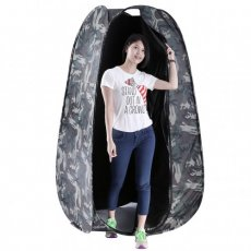 SBONY® 6 Feet/183 cm Camouflage Portable Indoor Outdoor Photo Studio Pop Up Changing Dressing Fitting Tent Room with Carrying Case
