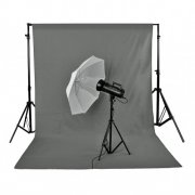 SBONY® 10 x 20ft/3 x 6M(GREY)Photo Studio 100% Pure Muslin Collapsible Backdrop Background for Photography, Video and Televison