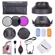 49MM Professional Accessory Kit for Canon, Nikon and Other DSLR Camera Lenses