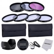 SBONY® 67MM Lens Filter and Close-up Macro Kit for Canon EOS 700D 550D 70D 60D 7D DSLR Cameras- Includes Filter Kit (UV, CPL, FLD)+Macro Close-Up Set+Carrying Pouch+Lens Hood+Lens Cap+Cleaning Cloth