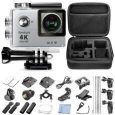 SBONY sport Action Camera 12MP 4K 60fps WIFI 2-Inch LCD Display 170 Degree Wide Angle Full HD Lens, 98FT/30m Waterproof Outdoor Sports Camera
