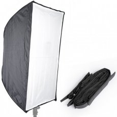 "SBONY® Photo Studio 24"" x 36""/60 x 90cm Rectangle Umbrella Type Speedlite Softbox with Grid for Portraits, Product Photography and Video Shooting"