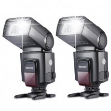 SBONY two TT560 Flash Speedlite for Canon Nikon Panasonic Olympus Fujifilm Pentax Sigma Minolta Leica and Other SLR Digital SLR Film SLR Cameras and Digital Cameras with single-contact Hot Shoe