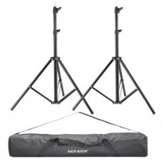 "SBONY 2 Pieces 75""/6 Feet/190CM Photography Light Stands with 36""/92cm Carrying Bag for Reflectors, Softboxes, Lights, Umbrellas, Backgrounds"
