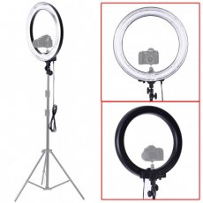 "SBONY 18"" RING LIGHT Dimmable Camera Photo/Video 75W(equivalent to 600W) Fluorescent (Light Only)"